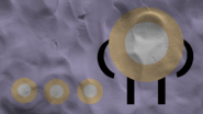 .FOODORBDesktop Background Evil Donut Simple No eyes Clay