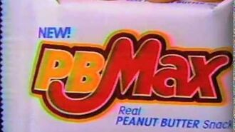 PB Max candy bar commercial 1991
