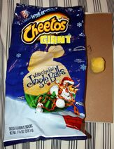 Cheetos Giant White Cheddar Jingle Balls