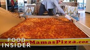 World's Largest Deliverable Pizza Can Feed 50 People