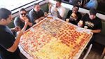 "Competitive Eaters Versus Wreckless Eaters in Big Mama's & Papa's Pizzeria's 54"" Pizza Challenge!"