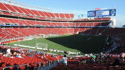 Entering Levi's Stadium