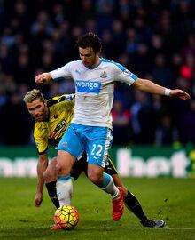 Daryl+Janmaat+Watford+v+Newcastle+United+Premier+XqtLEr2tOuGl