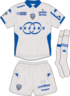 SC Bastia kit 2014-15 away