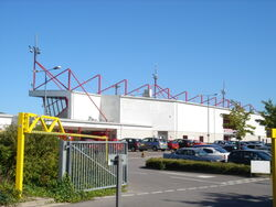 Crawley - Entrance to Broadfield Stadium