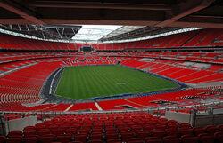 Wembley Stadium interior