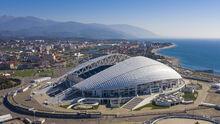 Sochi adler aerial view 2018 23