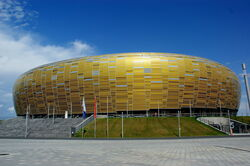 PGE Arena outside