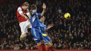 Arsenal v Hull City 2013-14