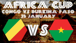 Africa Cup Matches 25 January Congo VS Burkina Faso 2