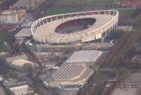 Luftbild Daimlerstadion Schleyerhalle Porsche-Arena