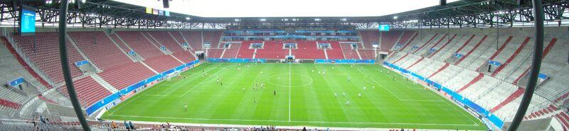 Panorama Impuls Arena vor NIG-JAP