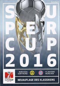 2016 DFL-Supercup programme