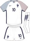 France Euro 2016 away kit
