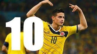 Top 10 Goals 2014 FIFA World Cup