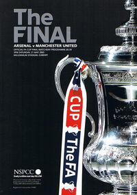 2005 FA Cup Final programme