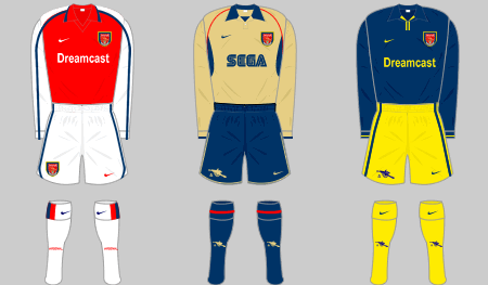 sports shoes ef6fb b251b Arsenal FC Squad, 2001-02 | Football Wiki | FANDOM powered ...