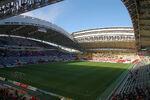 Inside View of Kobe Wing Stadium