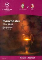 2003UEFAChampionsLeagueFinalprogramme