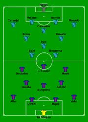 Barcelona vs Real Madrid 2017-08-13