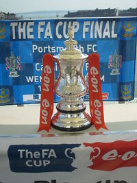 The FA Cup Trophy in 2008