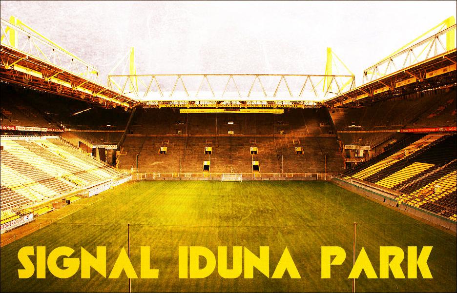 Borussia Dortmund Signal Iduna Park Stadium