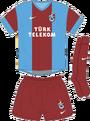 Trabzonspor home kit 2013 14
