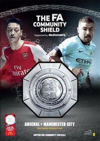 2014 FA Community Shield programme