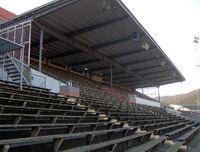 Ryavallen, main stand, january 2008