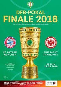 2018 DFB-Pokal Final programme
