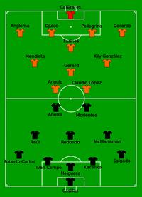 Real Madrid vs Valencia 2000-05-24
