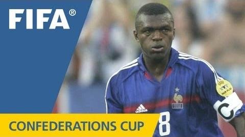 Desailly's perfect Confederations Cup record