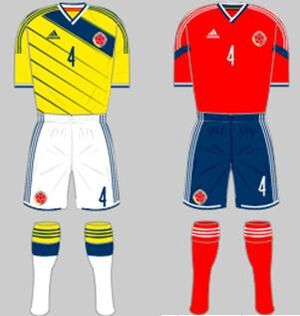 Colombia kit (FIFA World Cup 2014)