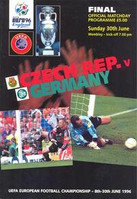 Euro1996matchprogramme