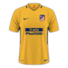 Atlético Madrid 2017-18 away