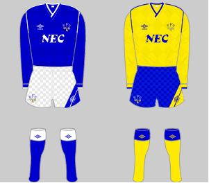 Everton FC Squad 1986 87