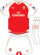 Arsenal F.C. 2015-16 home