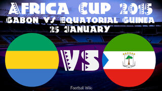 Africa Cup Matches 25 January Gabon VS Equatorial Guinea 2