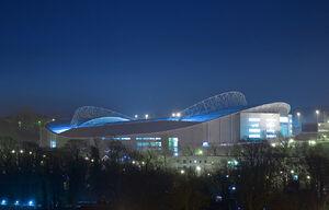 Falmer Stadium - night
