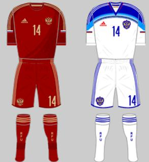 Russia kit (FIFA World Cup 2014)