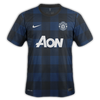 Manchester United 2013–14 away
