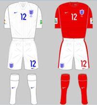 England kit (FIFA World Cup 2014)