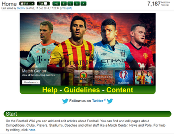 Football Wiki Home Page Begin 2015