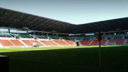 Tychy stadion wewn