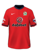 Blackburn Rovers Away 15-16