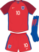 England Euro 2016 away kit