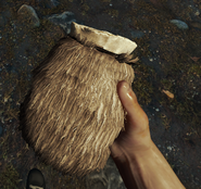 Pouch in hand