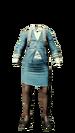 Full Body - Stewardess Dress