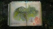 Карта острова форест в книжке