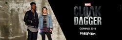 Cloak&Dagger Cover
